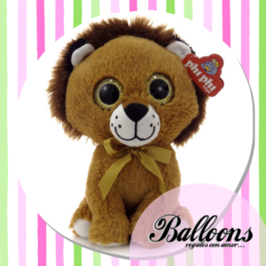 León Ojos brillantes 18 cm